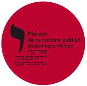 Logo Maison de la culture yiddish