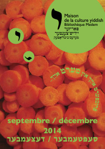 Brochure de septembre à décembre 2014